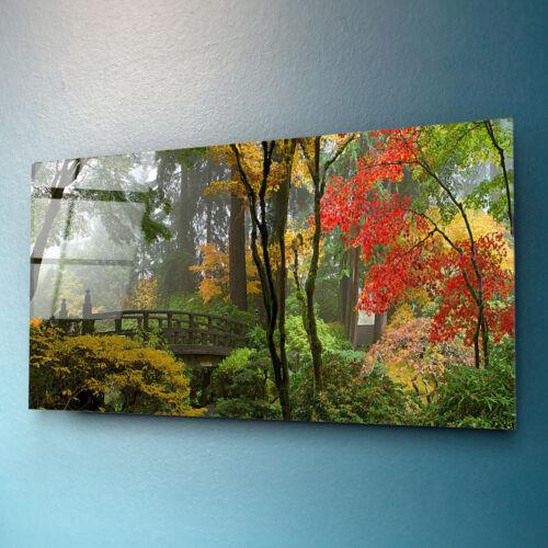 Wall Art Print Glass Art Hanging Home Decoration Tempered Safe Glass 100x50cm