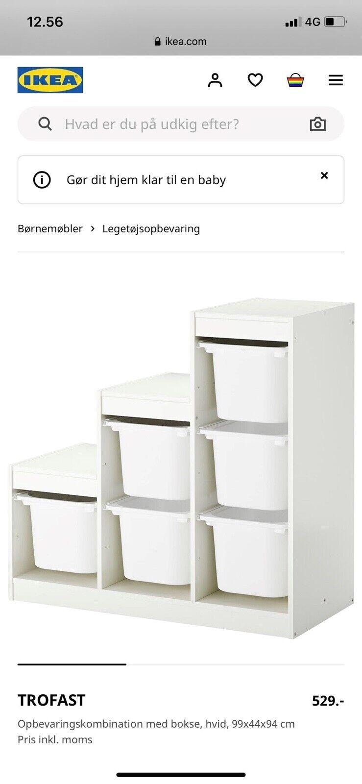 Opbevaring Ikea Dba Dk Kob Og Salg Af Nyt Og Brugt