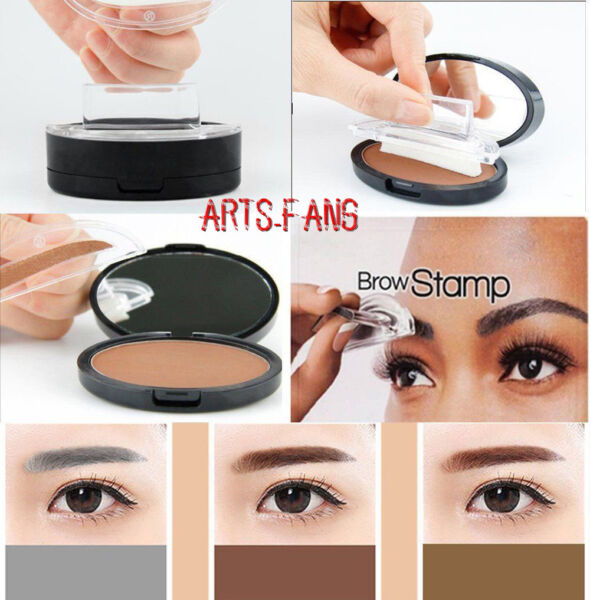 Eyebrow Shadow Mineral Powder Stamp Seal Palette Natural Brow