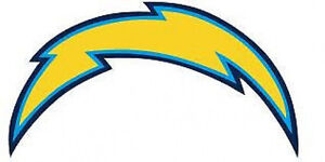 20 Water Slide Nail Art Decals San Diego Chargers Logo Ebay