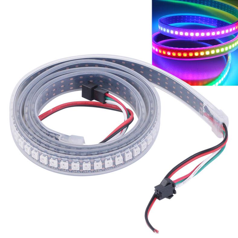 30 60 144 RGB LED Strip Stripe mit WS2812B 5050 SMD LEDs WS2812 Wasserdicht D7 | Ausgezeichnetes Handwerk