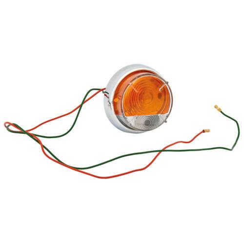 Indicatore Luce Anteriore//Laterale RHD Ambra Arancione MGA 1600//Mk2 Morris Minor 1000 NUOVO