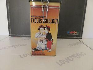 Boîte Étain Publicité Exouis Guillout