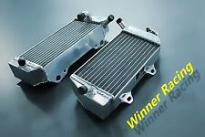 Fit Honda CRF450R CRF 450 R 2005-2008 aluminum alloy radiator right+left BRACED