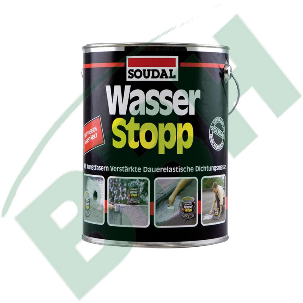 ( /KG) SOUDAL Wasserstopp 4 KG  Dachabdichtung Wasserstop Dachdicht