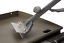 Griddle Scraper Durable 6 inch Stainless Steel Blade Ergonomic Easy Grip Handle