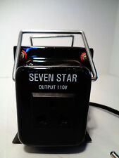 Seven Star 750 Watt Step Down Transformer Voltage Converter Portable Electrical