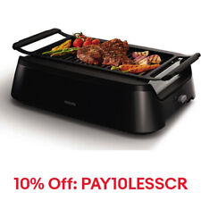 Philips Avance Collection Indoor Smoke-Less Grill,HD6371/94,Code:PAY10LESS