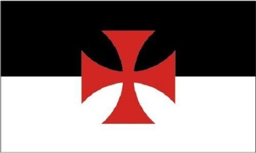 Crusades 5x3 house flag freemason high knight templars