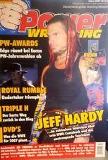 Power Wrestling 3/2007 WWE WWF WCW + 4 Poster (Shawn, BRD Tour, Jeff Hardy)