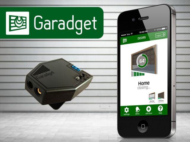 GARADGET WIFI CLOUD GARAGE DOOR CONTROLLER ALEXA GOOGLE HOME ASSISTANT IFTTT
