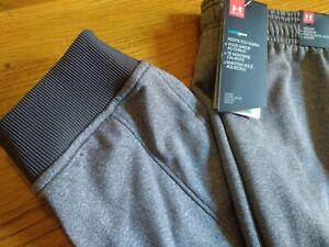 NWT$55 Under Armour Coldgear Armour Fleece Joggers Men's Pants 1320760   2XL