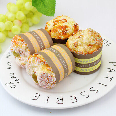 Artificial Pastry Food Imitation Display Cupcake Fake Muffin Magnets Prop Bakery