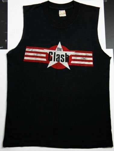 The Clash Vintage Tee Shirt (VERY RARE) '80S Broad