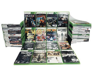 MICROSOFT-XBOX-360-GAMES-Lot-You-Choose-the-Game-Fast-Free-Same-day-Shipping