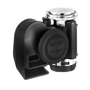 Stebel-Nautilus-Compact-12volt-Car-4x4-Motorcycle-Air-Horn-Black-139dB-GPNTC12B