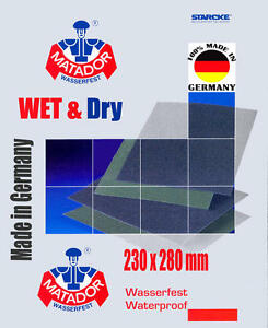papier-de-verre-humide-et-sec-par-Starcke-Grade-fin-2500-AUTHENTIQUE-P2500-x-3