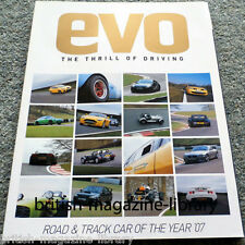 Evo Magazine Issue 105 - Road and Track Car of the Year 2007