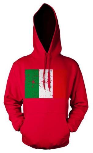 ITALY FLAG ITALIAN NATIONAL EMBLEM PATRIOT HOODIE HOODY KIDS 3 12 YEARS