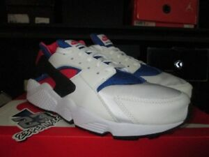size 40 48c79 6f1b8 Details about SALE AIR HUARACHE 91 QS WHITE GAME ROYAL DYNAMIC PINK AH8049  100 SZ 8-12 NEW