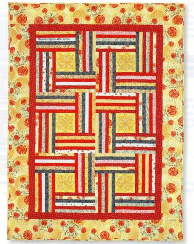 Autumn Fences Quilt Pattern Pieced SD
