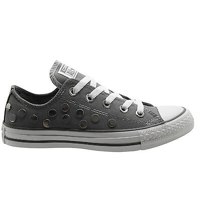 Converse CT AS Ox Low Top Unisex Mens Womens Light Grey Trainers 547297C D68