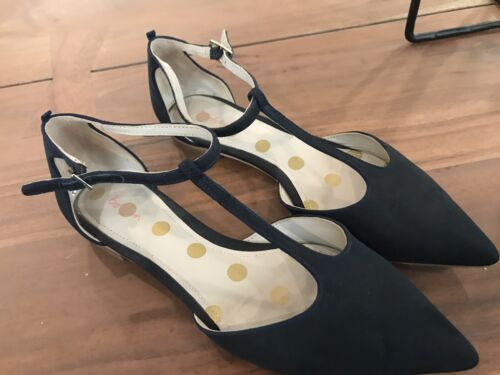 Boden T-strap Flat Size 8.5 Shoes