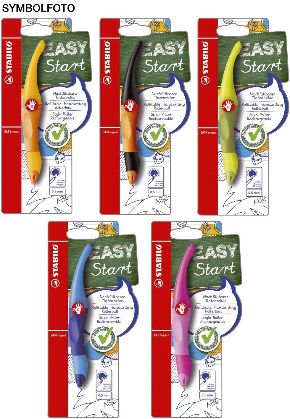 Facile Originale - Ergonomica Penna a Sfera, Coloremix, Vpe = 5 Pezzi