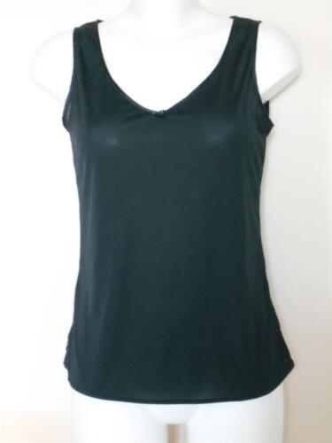 in sizes 10-22 faMouS store camisole vest in black natural or white
