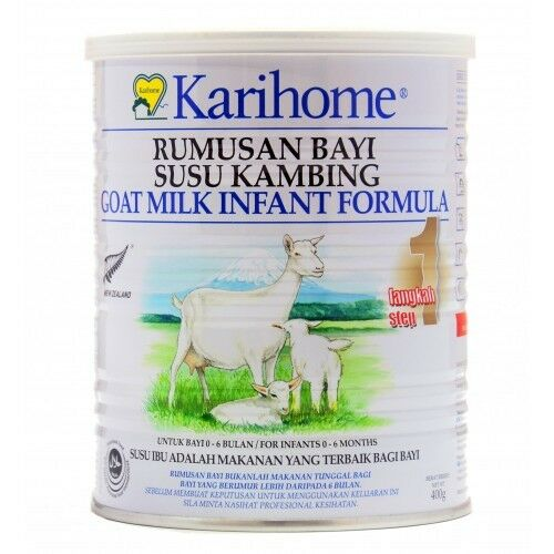 Goats Milk for Baby 0-6 months Karihome Infant Formula 400g Step 1