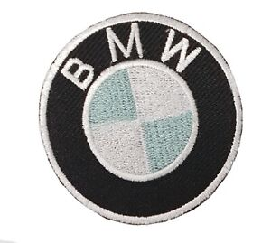 BMW-Deportes-de-Motor-Redondo-Logo-Motero-Bordado-con-Plancha-Insignia-Parche
