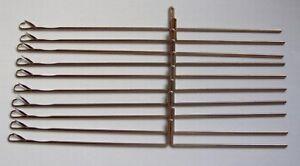 10-Stueck-NEUE-Nadeln-fuer-Strickmaschine-Silver-Reed-SK-155-SK-890