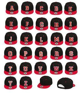 Casual-BASEBALL-CAP-A-Z-HAT-Snapback-Size-Adjustable-Strap-Unisex-Mens-Women