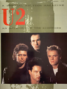 U2, An Anthem For The Eighties Magazine, U2 Memorabilia, U2 Book