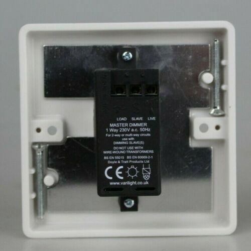 Varilight DEL variateur d/'intensité tactile et contrôle à distance IR V-Pro JQI401-Blanc