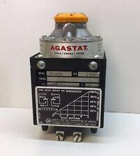 NEW Agastat DE-Y-12 Time Delay Relay 115V Coil