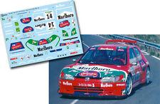 Decal 1:43 Jose Brito - PEUGEOT 306 MAXI - Rally Corte Ingles 2000