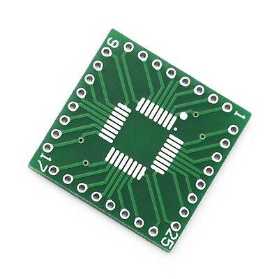 10PCS QFP/TQFP/LQFP/FQFP/SOP/SSOP32 to DIP Adapter PCB Board Converter T1