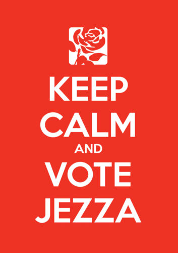 Election Labour All Sizes Keep Calm Vote Jeremy Corbyn Poster 12 Wall Art