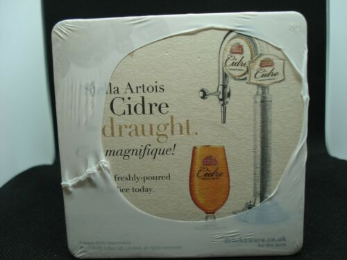 200 x Stella Artois Cidre Beer mats New 2 packs of 100