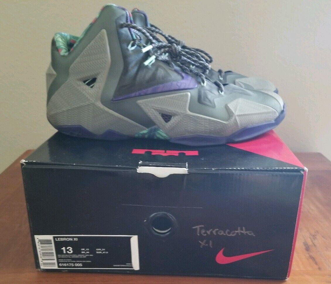 0a1fab18647 Nike LeBron 11 Terracotta Size 13 616175 Retro 11 Terracotta ...