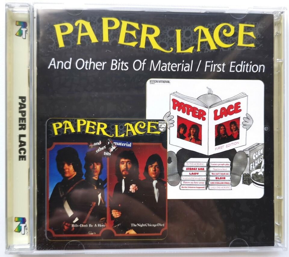 PAPER LACE: And Other Bits Of Material / First Edition, pop