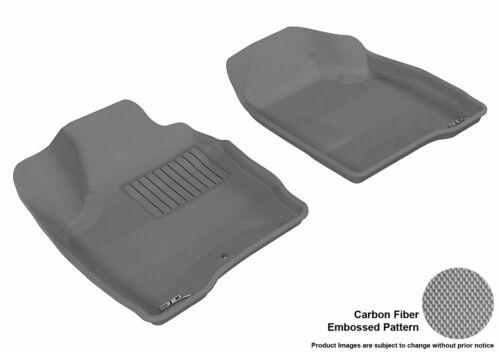GRAY Chevrolet Custom Fit Molded Floor Liners 1st Row 2 Mats 3D MAXpider KAGU