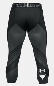 UNDER ARMOUR PROJECT ROCK SUPERVENT 3/4 BRAHAM BULL UA COMPRESION PANTS