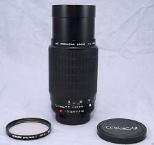 MC COSMICAR/PENTAX KA 70-200mm f4 ZOOM LENS!! 90-DAY WARRANTY!! EXCELLENT PLUS!!