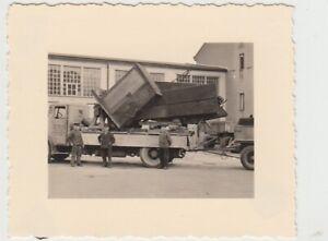 F29777-Orig-Foto-Lkw-der-Firma-Fritz-Nelson-Altenburg-m-Kiesbagger-1939