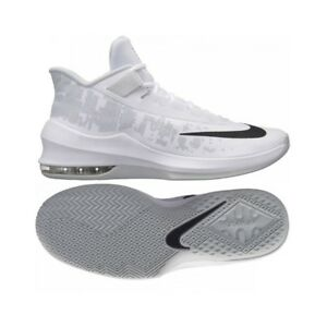 Dettagli su Scarpe sportive uomo da basket NIKE Max Infuriate 2 Mid tela Bianco AA7066 100
