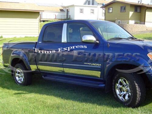2003-2006 Toyota Tundra Double//Crew Cab Stainless Steel Chrome Pillar Post Trim