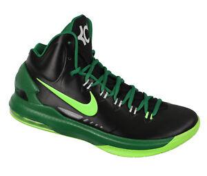3d936f8a03 Nike Kd V Basketball Chaussures 11 Vert Sapin Noir Électrique Kevin ...