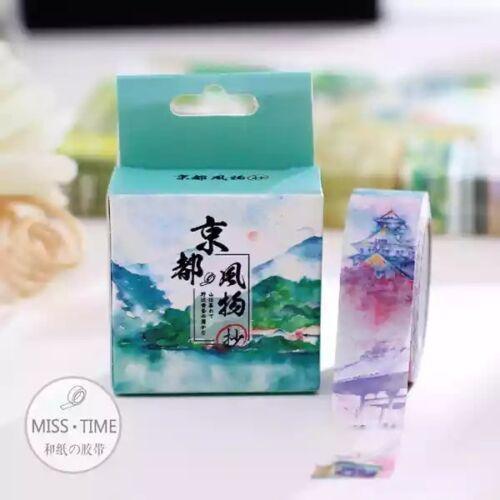 Japan Washi Tape Flowers 15mmx7m MT321